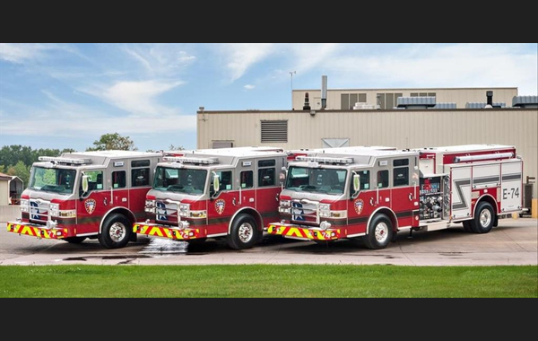 Pierce Velocity Pumper - Engines 70, 71, 72, 74, 75, 77, 78