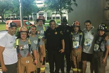 Spring Firefighters Make a Big Climb to Fight Blood Cancers