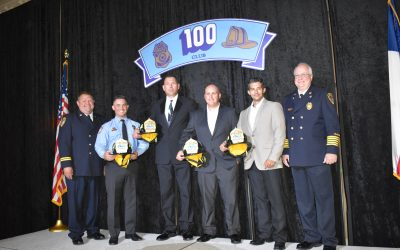 Four Spring Firefighters Share Firefighter of the Year Honors from the 100 Club