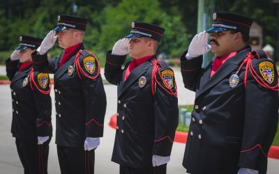 Spring Fire Honor Guard Honors America's Fallen