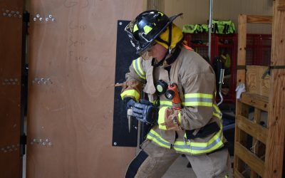 Firefighters Train for Emergency Entry