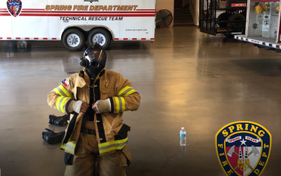 Dressed to Save Lives: Bunker Gear Drill