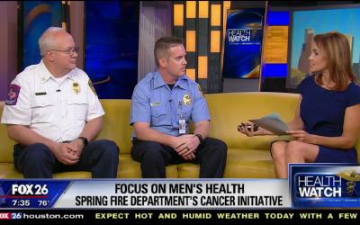 Spring Fire Senior Captain's Cancer Story Goes Viral